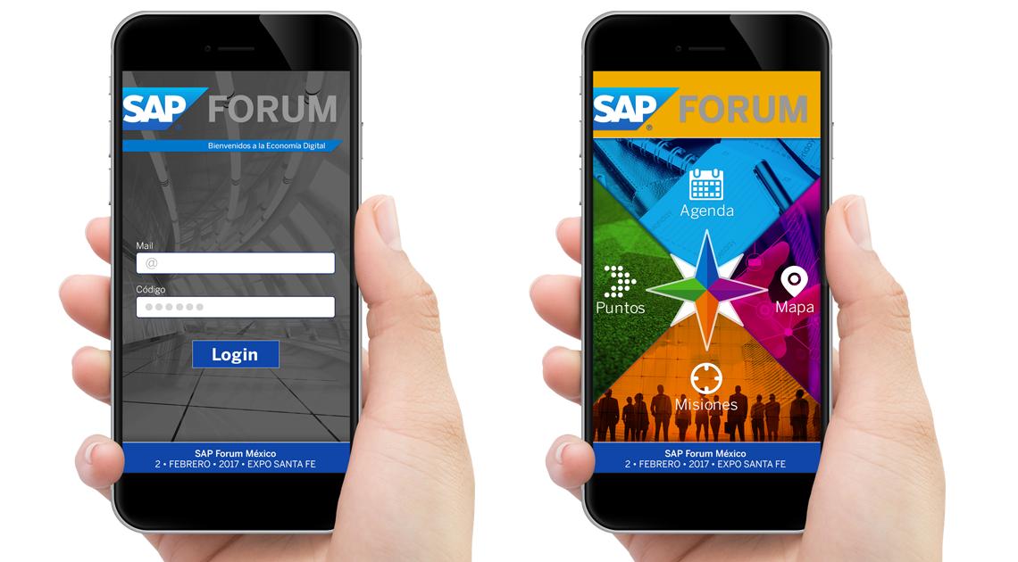 APP SAP FORUM MEXICO 2016 - Ideas en Mente