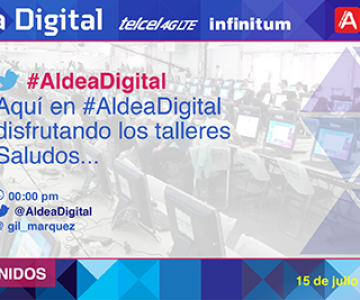 TWEET WALL ALDEA DIGITAL TELMEX
